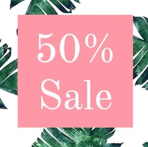 Other - Thursday - Monday 50% off Sale